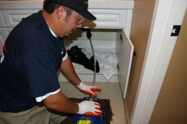 drain cleaning plumber in CREST